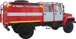 АЦ 1,6-40(33088) ВЛ (шасси ГАЗ 33088