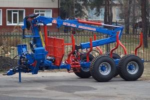 Прицеп тракторный ПЛ-7