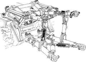 Навеска гидравлическая СНЛ-3